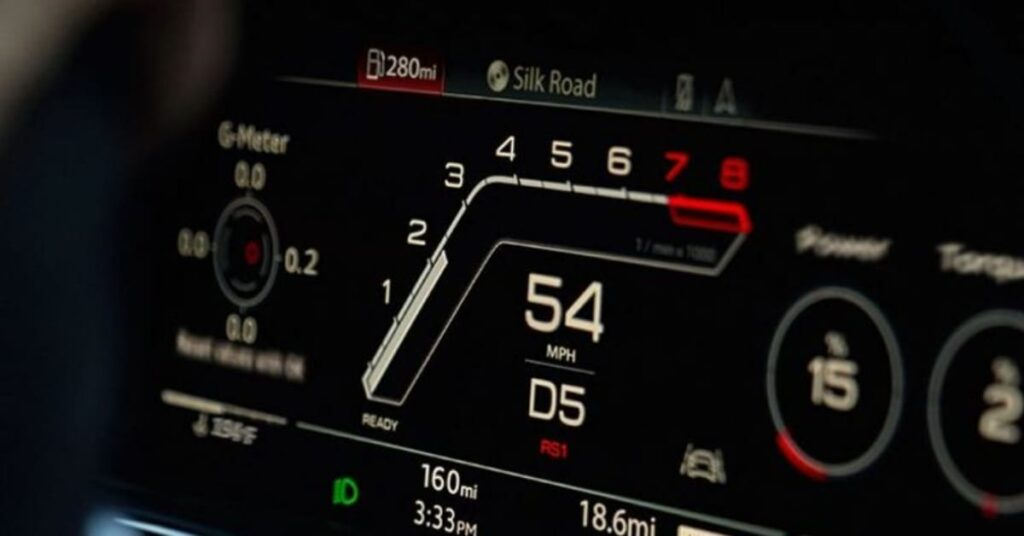 RS Q8 Performance 1 Mode
