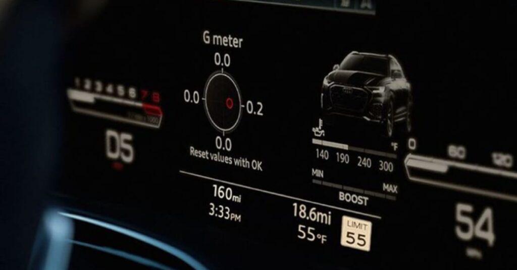 Audi RS Q8 RS Sport Mode