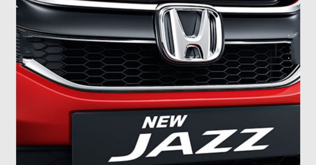2020 Honda Jazz Chrome High Glossy Black Grille