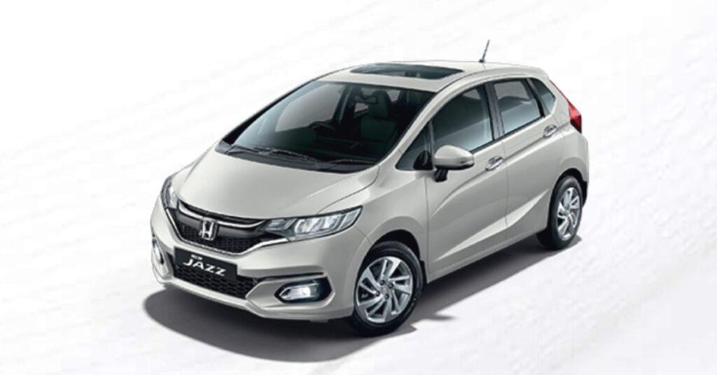 2020 Honda Jazz Platinum White Pearl colour