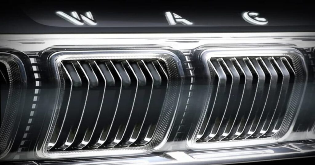 2021 Jeep Wagoneer Grille