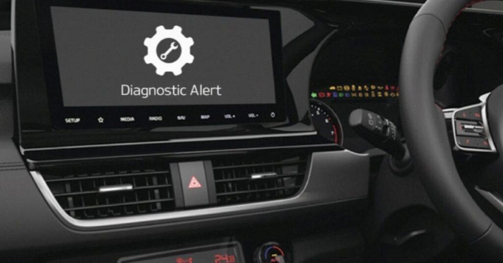 Auto Manual Vehicle Diagnostic alert