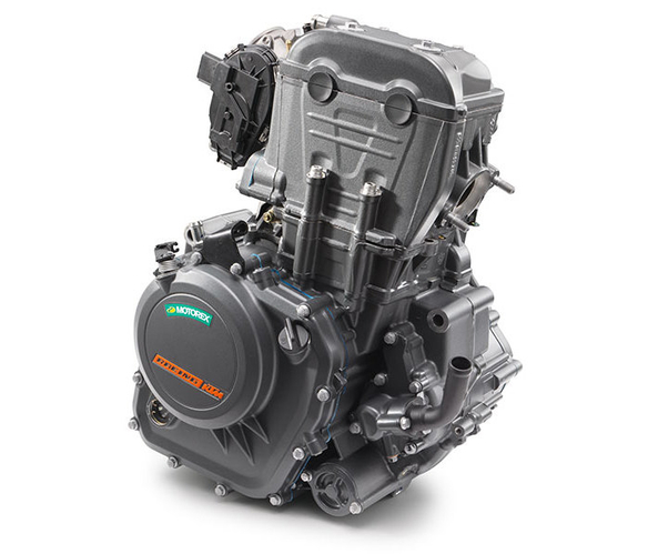 KTM Duke 250 engine