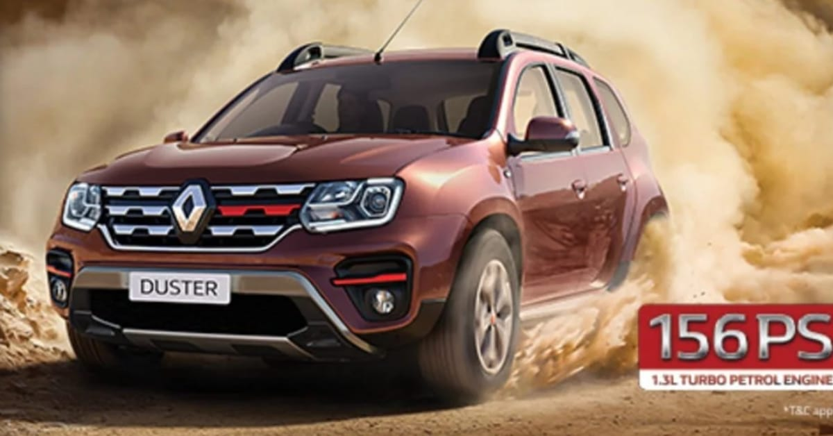 Renault Duster launched with 1.3-litre petrol engine