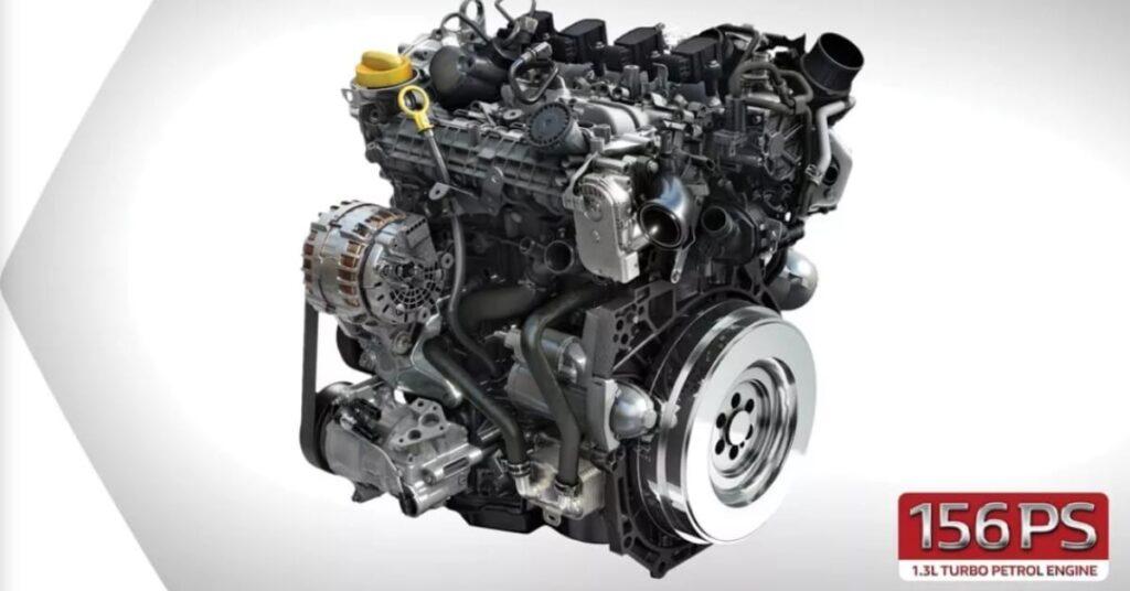 Renault duster 1.3-litre petrol engine