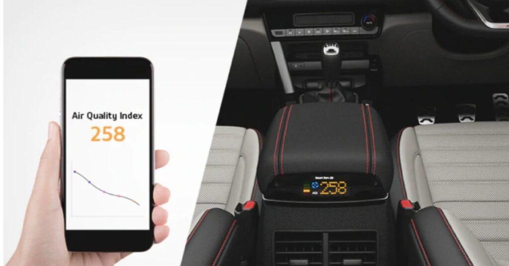Smart Pure Air-In car AQI monitoring
