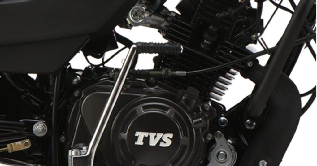 TVS Sport 2020 Long life duralife 110cc engine