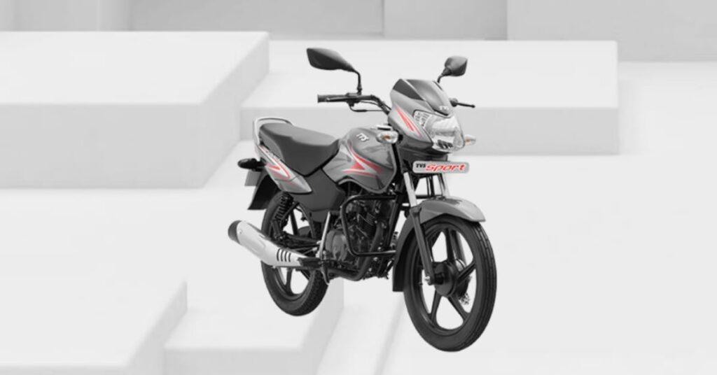 TVS Sport 2020 Mercury Grey