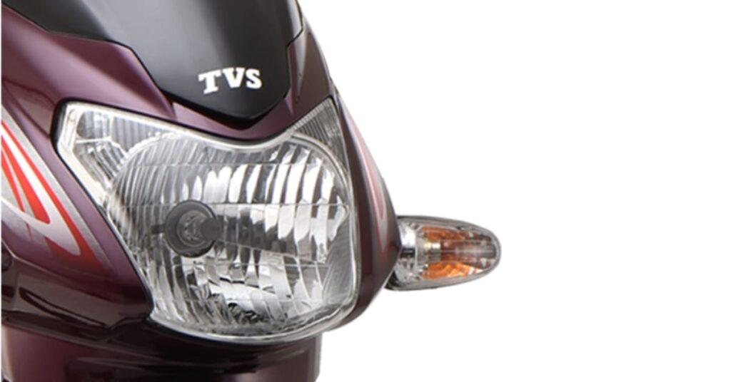 TVS Sport 2020 Sporty headlamps