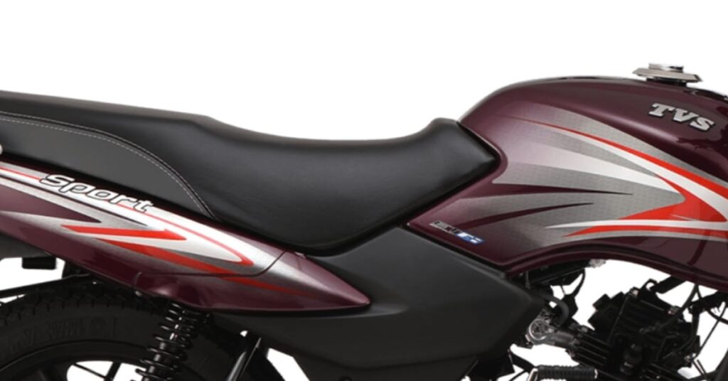 TVS Sport 2020 all-new graphics and sporty design