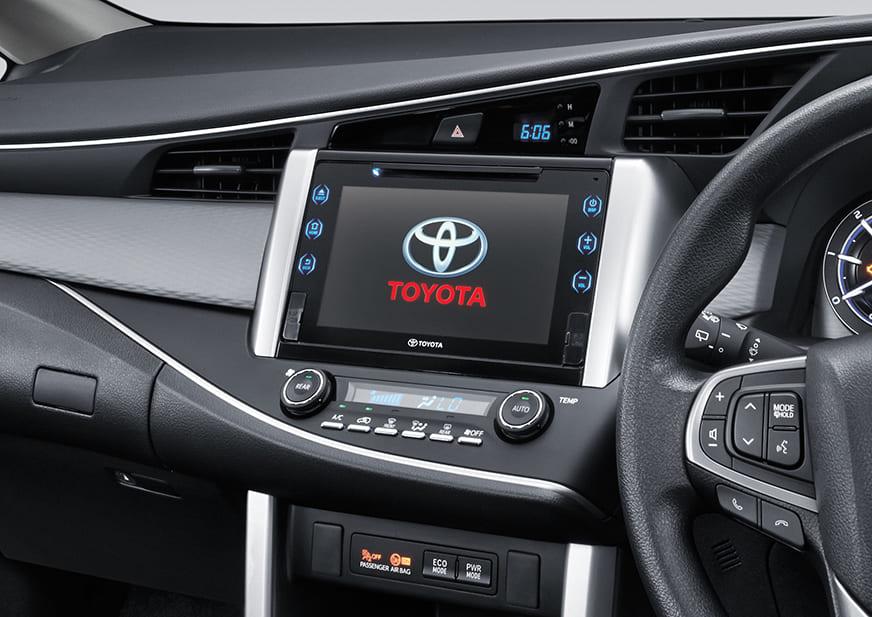 Toyota Innova TRD Sportivo Infotainment system
