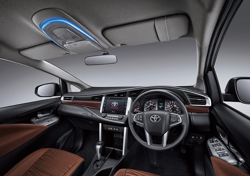 Toyota Innova TRD Sportivo dashboard