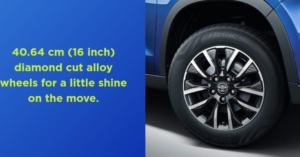 Toyota Urban Cruiser Alloy Wheels