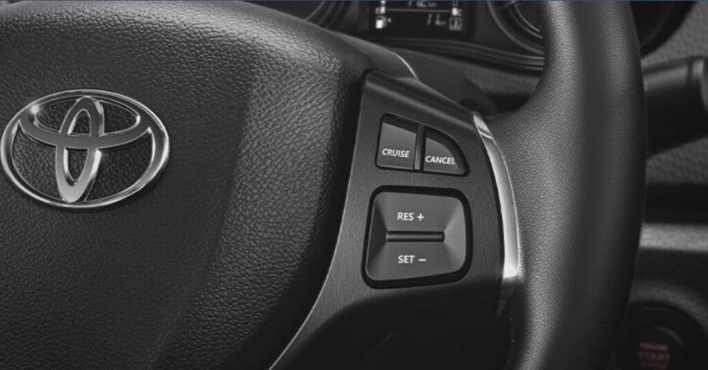 Toyota Urban Cruiser Cruise control