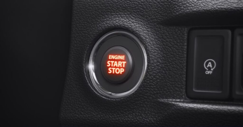 Toyota Urban Cruiser Engine Push Start and Stop Button