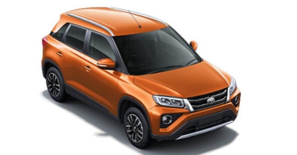 Toyota Urban Cruiser Groovy Orange colour