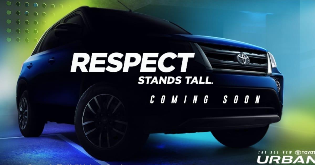 Toyota Urban cruiser coming soon