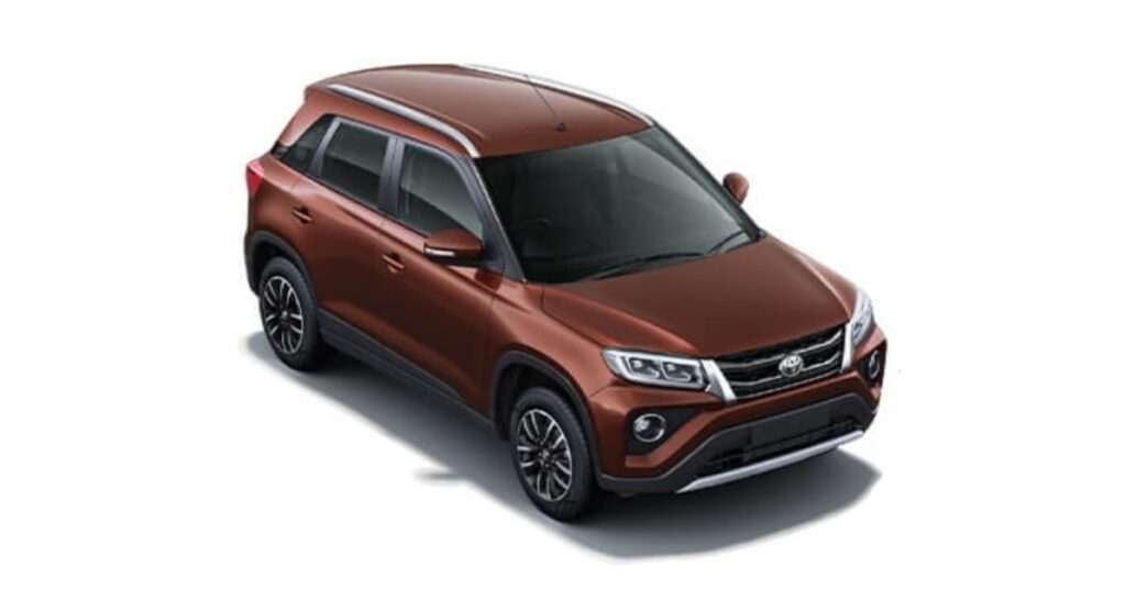 Toyota Urban Cruiser Rustic Brown colour