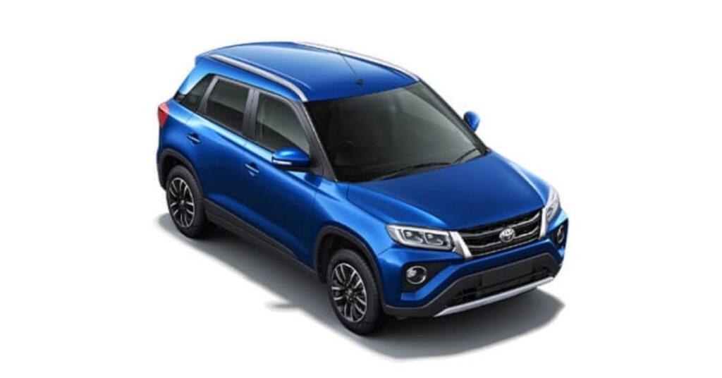 Toyota Urban Cruiser Spunky Blue Colour