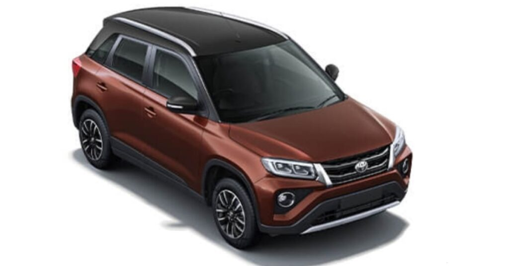 Toyota Urban Cruiser rustic brown with black roof