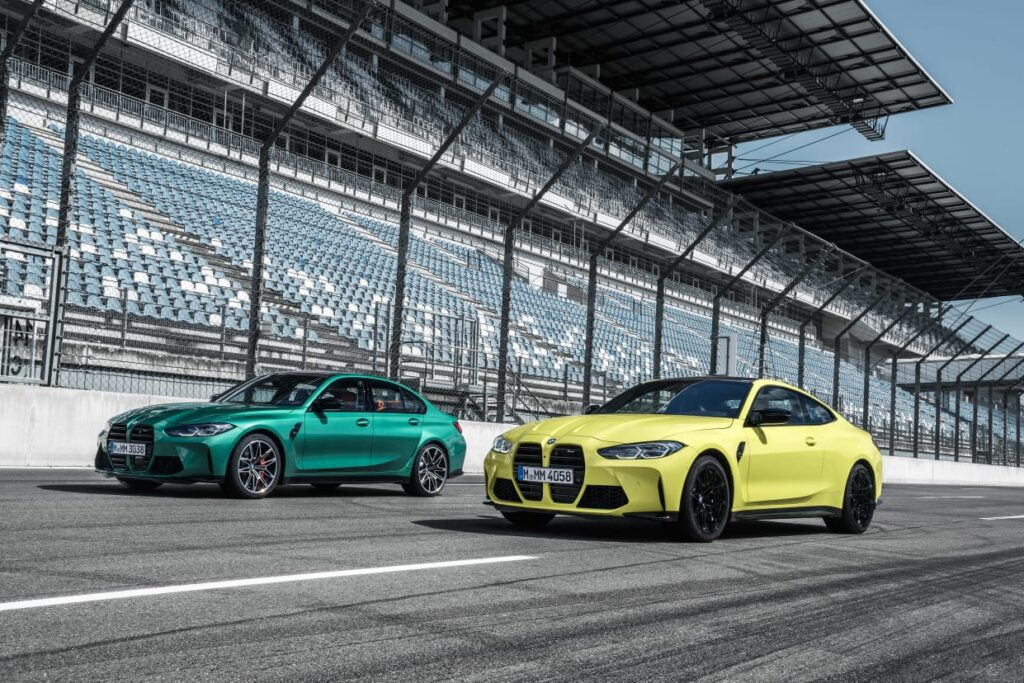 M3 Competiton Sedan and M4 competition Coupe