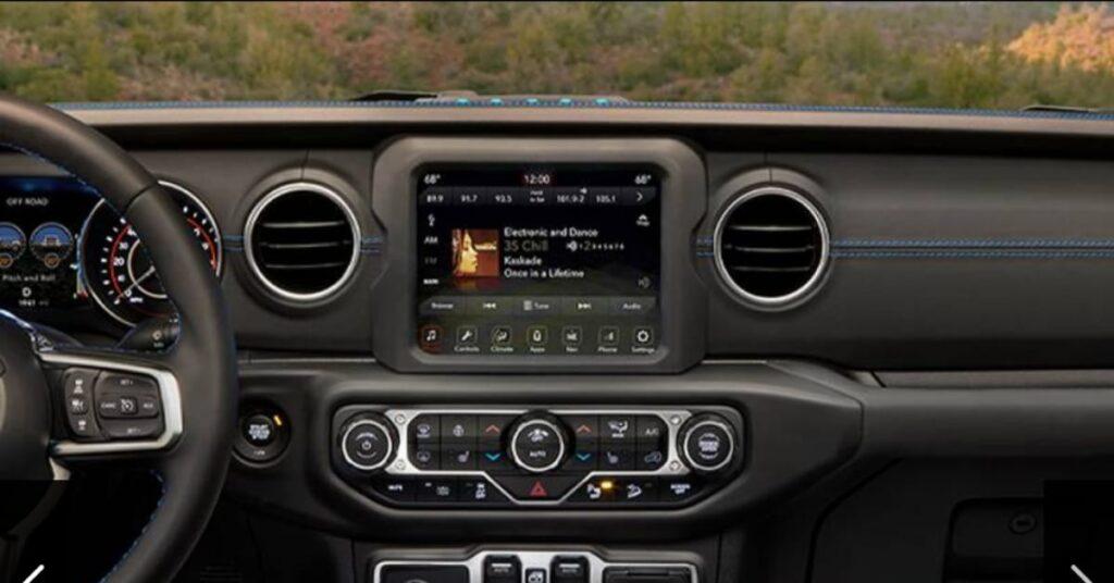 2021 Jeep Wrangler 4xe Infotainment system