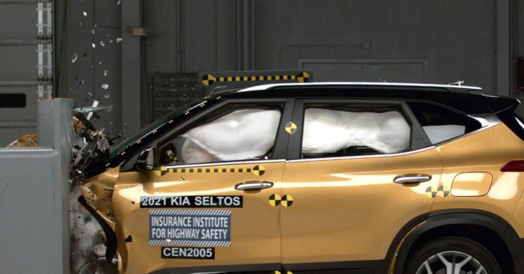 2021 Kia Seltos IIHS Crash Test