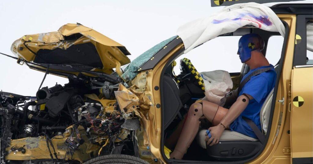 2021 Kia Seltos IIHS Crash Test dummy Condition
