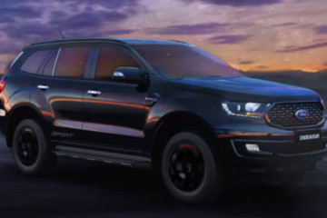 Ford Endeavor sport launched at Rs. 35.10 lakh