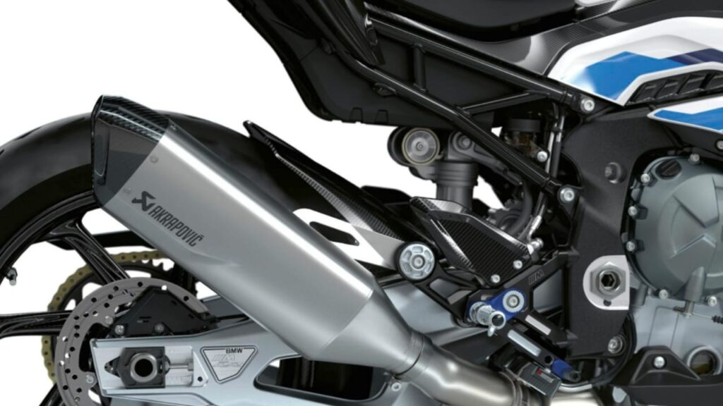 BMW M RR Acrapovic Exhaust
