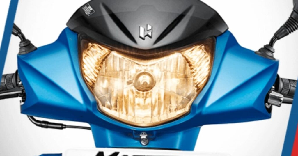 Hero Maestro Edge 110 Halogen headlights