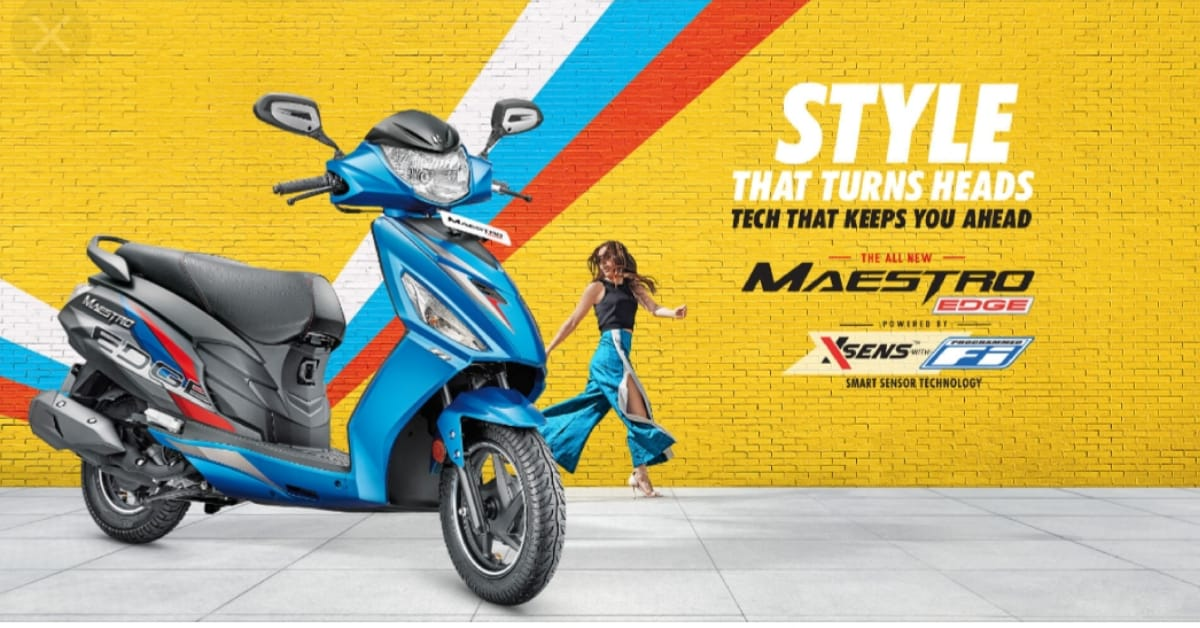 Hero Maestro Edge 110 Launched soon