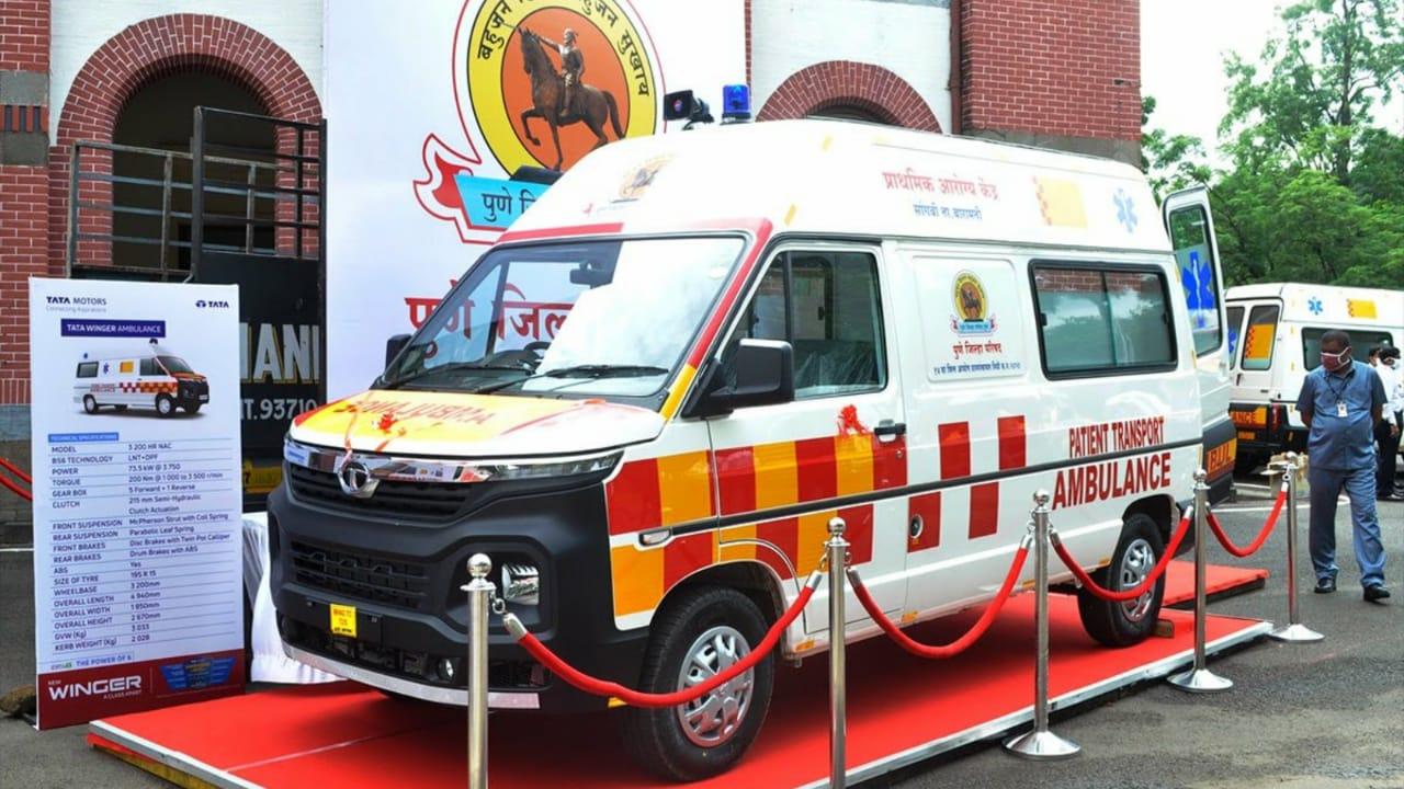Tata Winger Ambulance