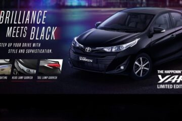 Toyota Yaris Limited Black Edition Coming soon in India