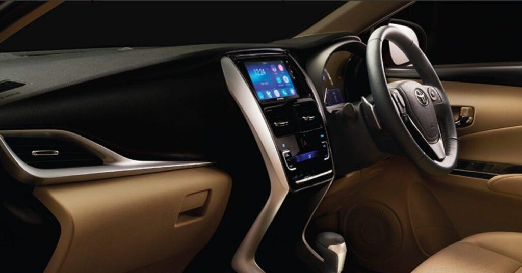 Toyota Yaris Limited Black Edition Dashboard