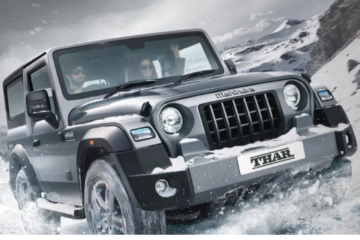2020 Mahindra Thar, safest car of india
