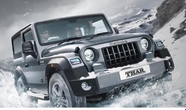 2020 Mahindra Thar, safest car of india