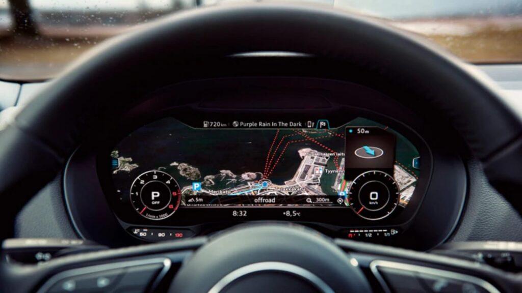 Digital Instrument Cluster of Audi