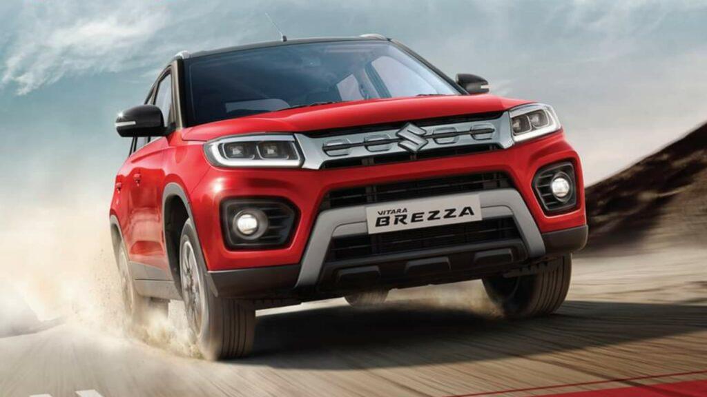 Vitara Brezza The Fastest Compact SUV to Cross 5.5 lakhs Sales
