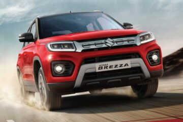 Vitara Brezza The Fastest Compact SUV to Cross 5.5 lakhs Sales