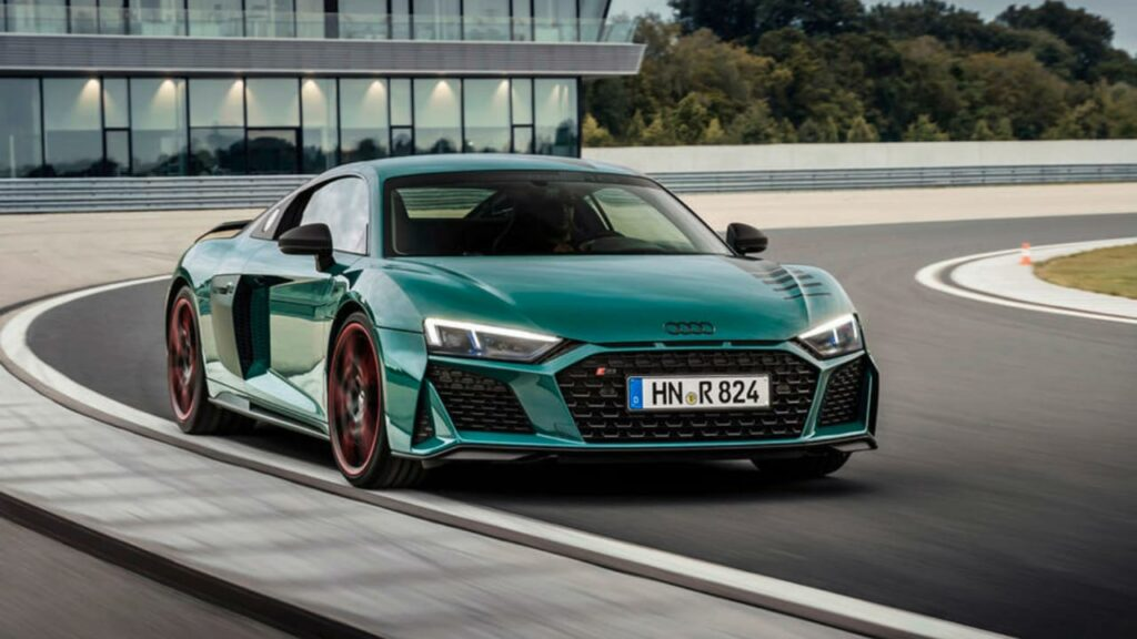 Audi R8 Special Edition with 5.2-litre v10 engine