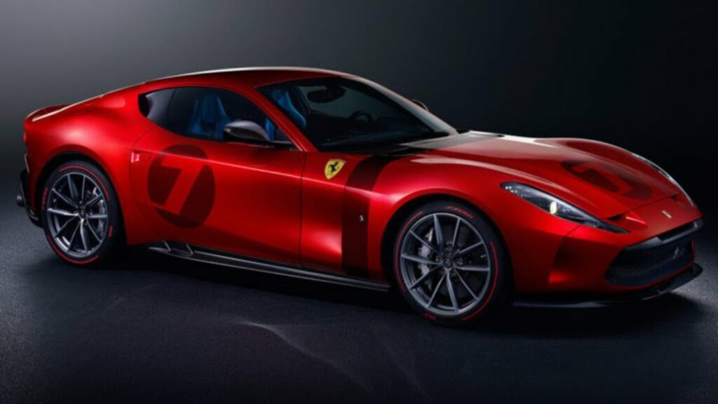 Ferrari Omologata Revealed in International Market