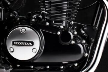Honda H'ness CB 350 Engine
