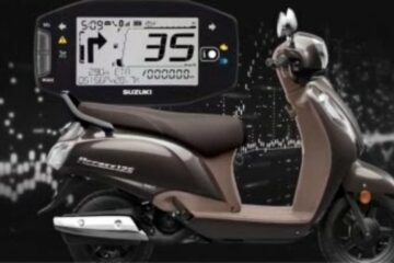 Digital Instrument Cluster in Access 125