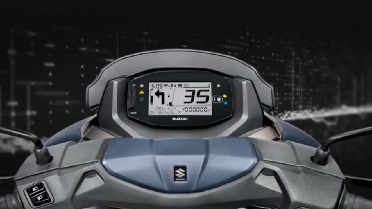 Suzuki Burman Street 125 Digital Console