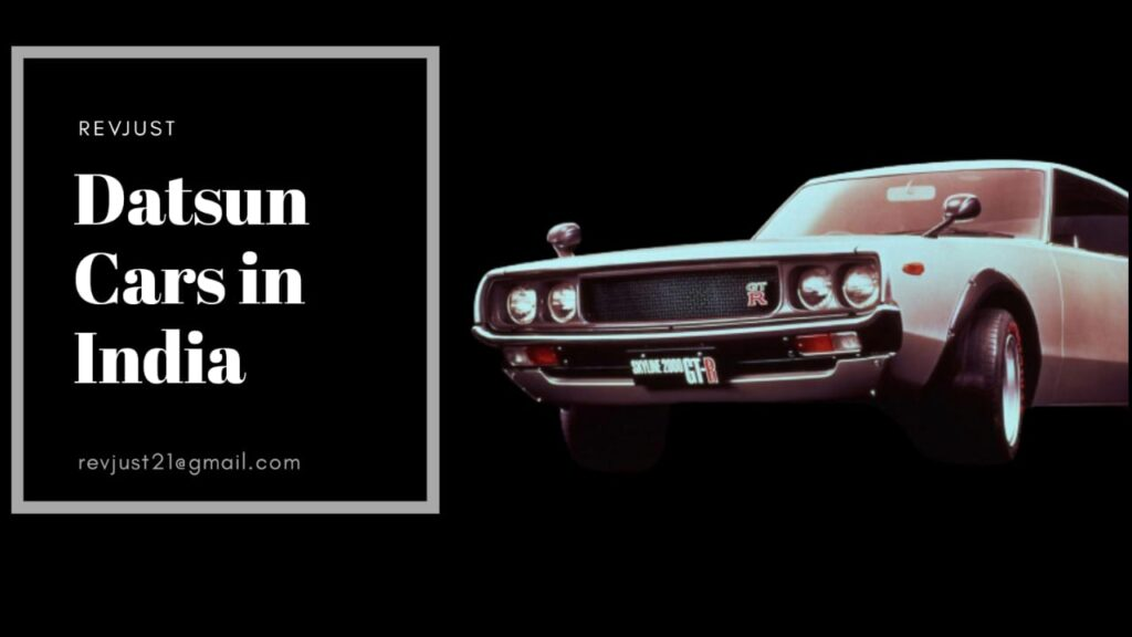 Datsun Cars in India
