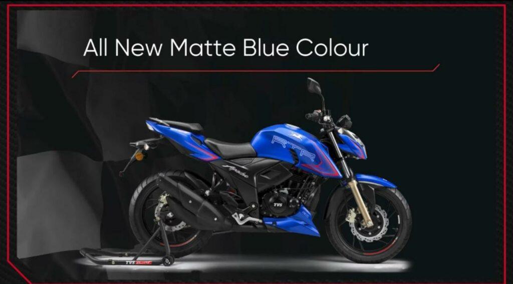 New Apache RTR 200 4V New Colour