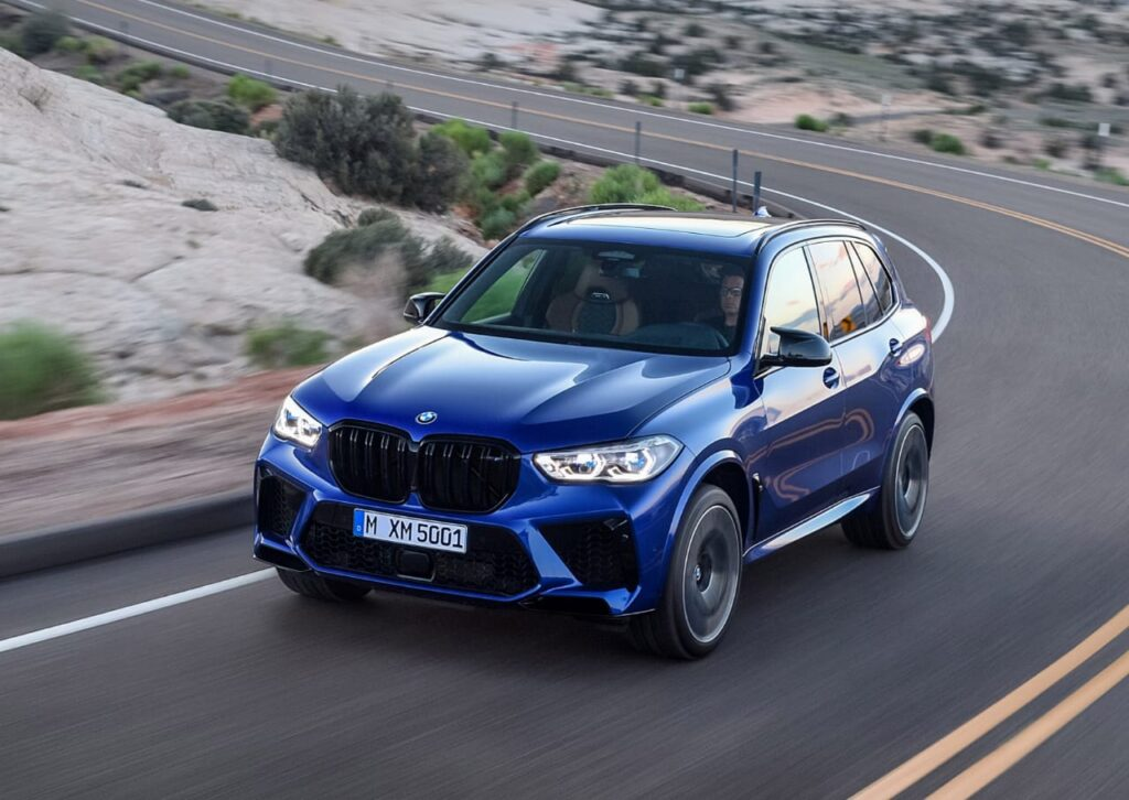 BMW X5 M Competition, Ground Clearance, Boot Space, Dimensions
