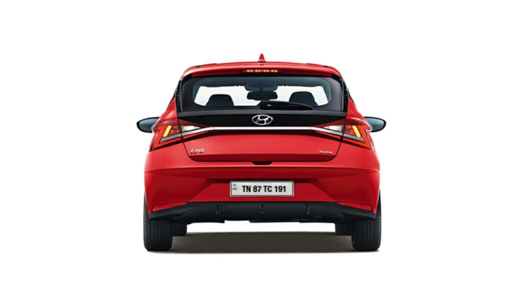 LED Taillamps in New i20