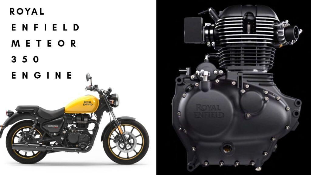 Meteor 350 Engine